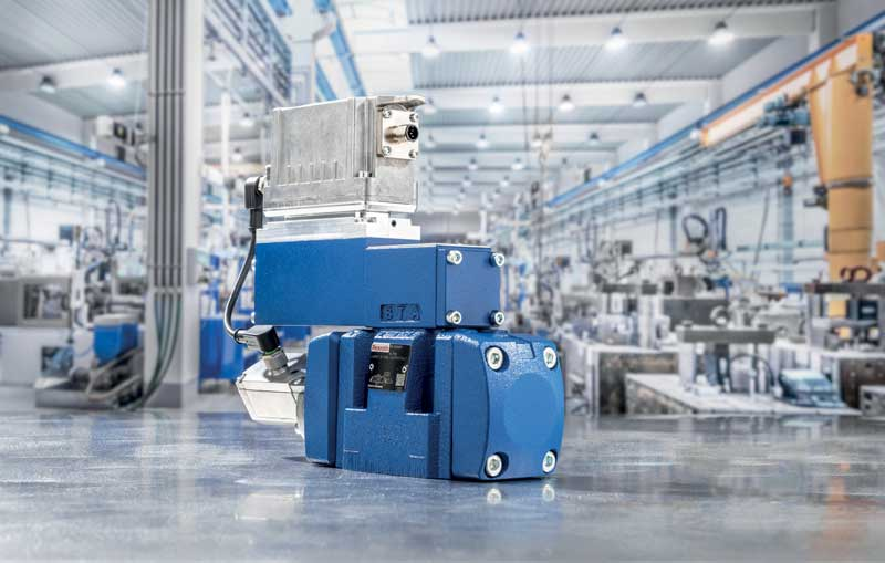 Digital valves from Bosch Rexroth with IO-Link interface.
