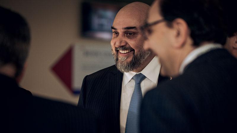 UCIMA President Enrico Aureli.
