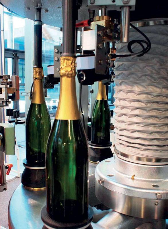 A bottling line.