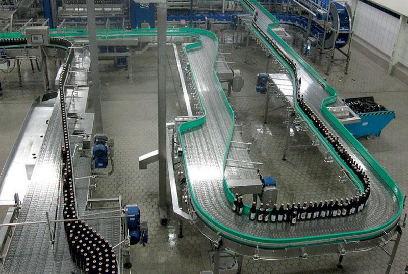 Il settore del packaging si distingue per l'alto livello di automazione.