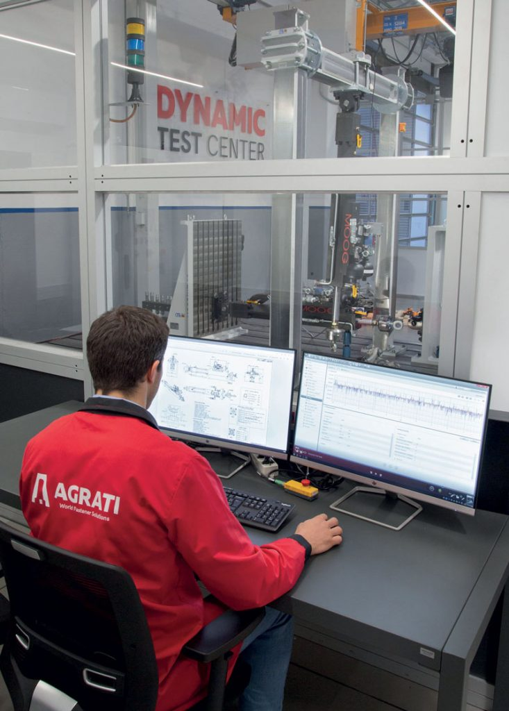 The development of the new test bench meets the need for more information and data for the design of complex components and product development.