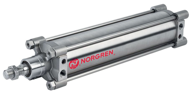 Design enhancements have been specified on the new range of Norgren's cylinders.