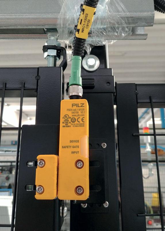 Grazie alla tecnologia transponder RFID, gli interruttori di sicurezza codificati PSENcode garantiscono la massima protezione dalla manipolazione.