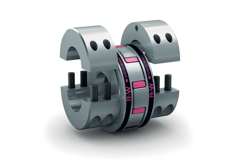 Figure 5 - Featuring high dampening properties, R+W's EK-series couplings are the optimal choice wherever shock and vibration reduction is required.