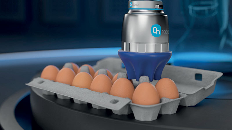 End-of-arm tools, such as OnRobot soft grippers, can support companies in the food processing field to keep pace and meet market demands.