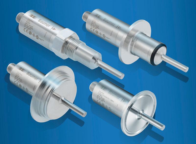 Il sensore di flusso Baumer FlexFlow® PF20H.