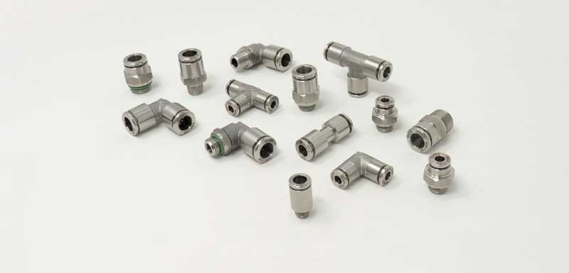 The XVR range of stainless steel fittings from Tierre Group.