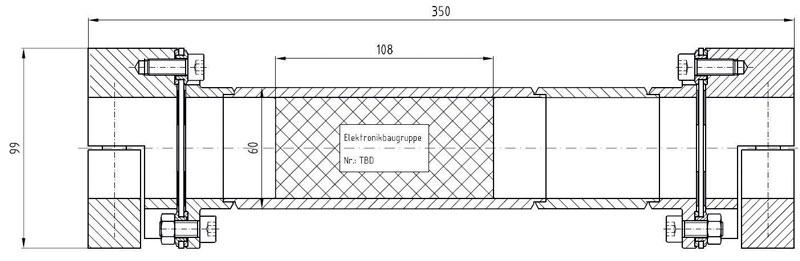 Figura 2. Struttura modulare, integrabile con gli spaziatori.