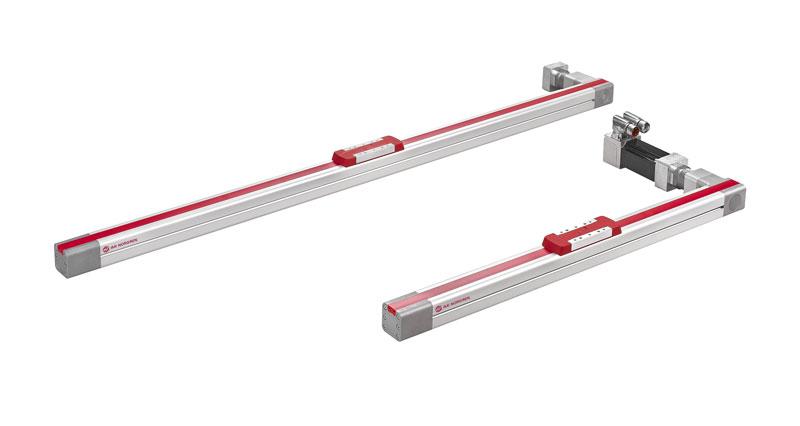 Gli attuatori elettrici Norgren ELION senza stelo sono ideali per applicazioni nel settore automobilistico, imballaggi ed etichettatura, movimentazione dei materiali, macchine utensili ed alimentare e delle bevande