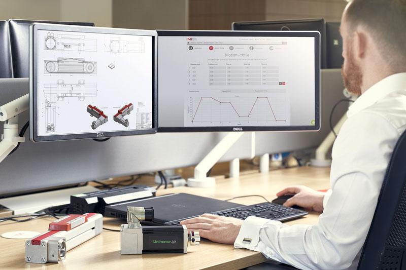 Il configuratore online per gli attuatori Norgren ELION, intuitivo e semplice da utilizzare.