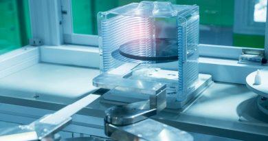 Cuscinetti appositamente progettati possono operare in modo affidabile in ambienti ad altissimo vuoto come ad esempio nella produzione dei semiconduttori.
