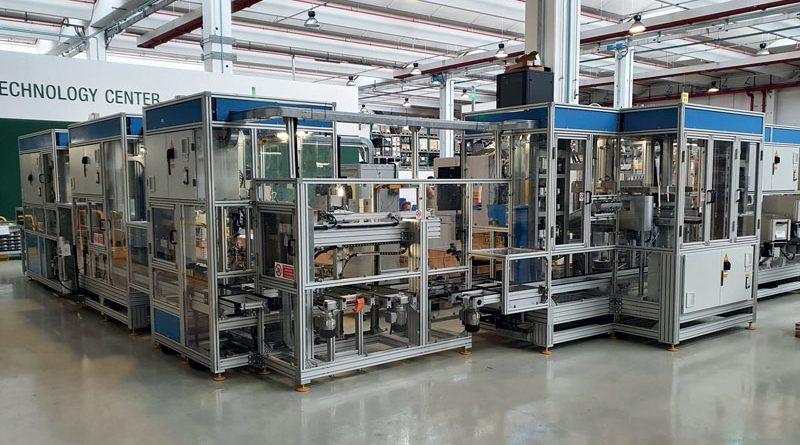 Stecam sviliuppa soluzioni su misura per l'Automotive implementando la parte Motion con attuatori elettrici Festo.