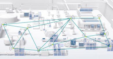 Il modulo radio WLAN 2100 di Phoenix Contact offre la modalità operativa WLAN Mesh.