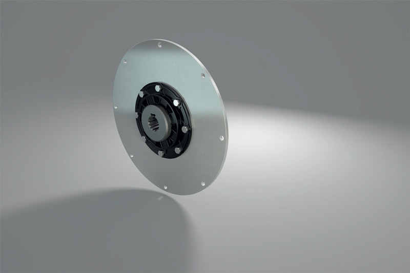 Giunto torsionale serie LK di produzione R+L Hydraulics.