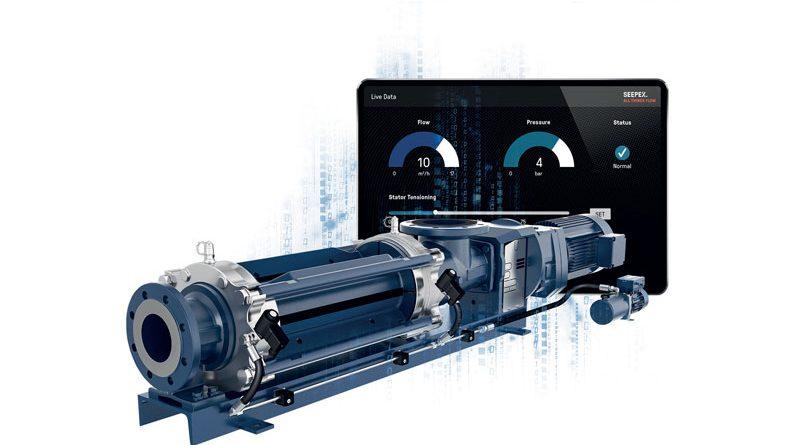 La pompa monovite di Seepex è regolabile in modo completamente automatico.