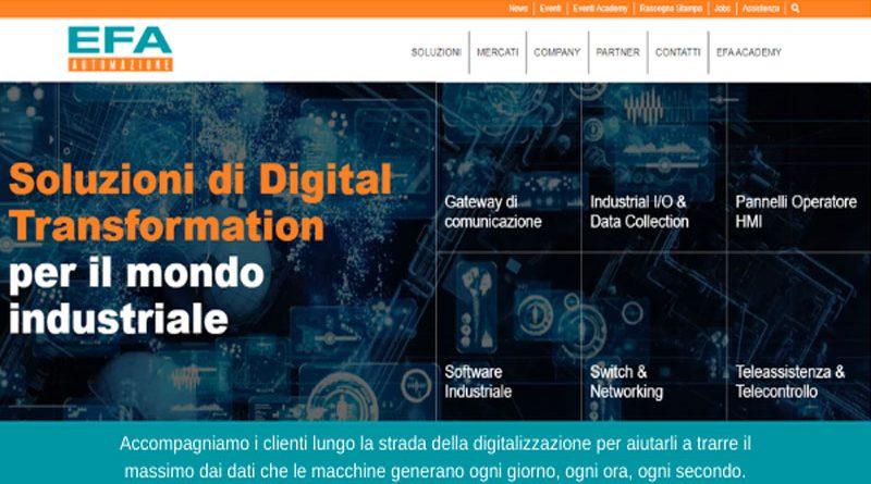 Un sito rinnovato per immergersi nella digital transformation