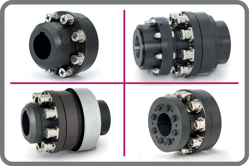 ST series torque limiters from R+W.