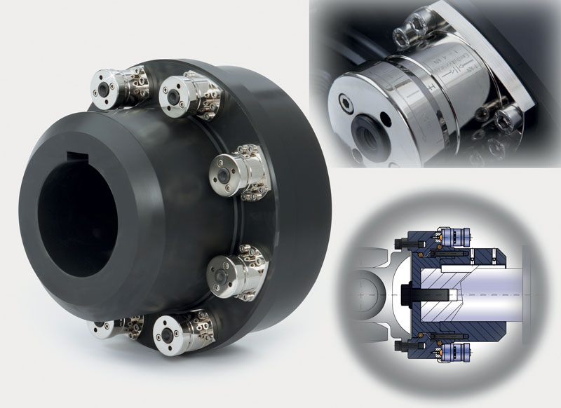 ST1series torque limiter from R+W.
