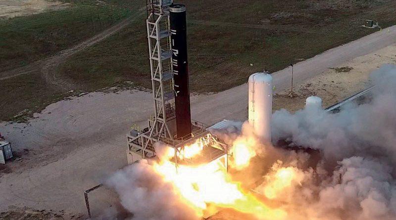 Alpha, di Firefly, è il più grandi razzo al mondo a propulsione liquida interamente in fibra di carbonio.