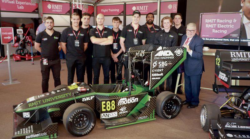 RMIT Electric Racing al GP d'Australia 2020.