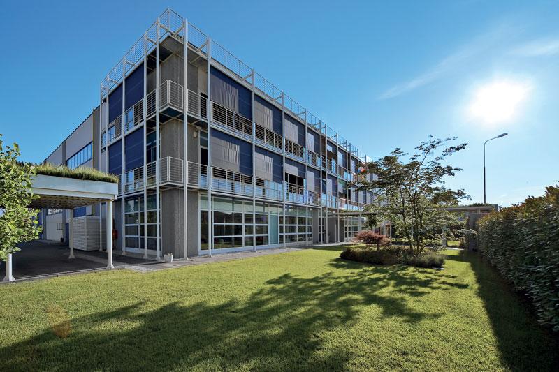 La sede di Tierre Group a Cormano, nell'hinterland milanese.