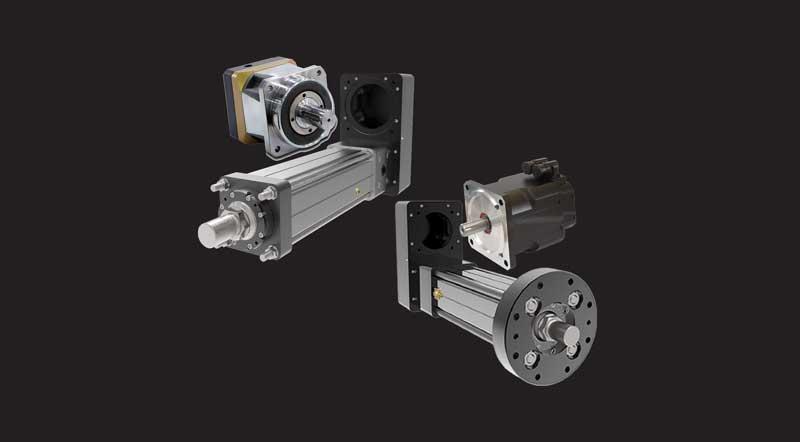 assemblaggio motori/attuatori