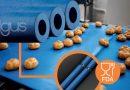 Blue Rollers Enable Faster Conveyor Belt Speeds