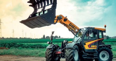 Minimizing the Dispersion of Energy in Telehandlers