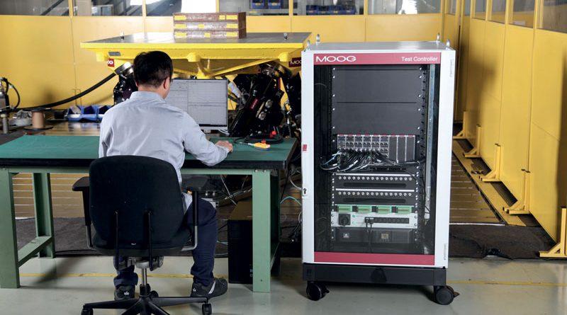 Il controller e il software Moog offrono ai manager di laboratorio e agli ingegneri elevati livelli di accuratezza.