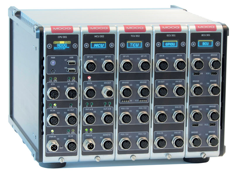 The new Moog system helps test engineers achieve a stable and flexible software platform.