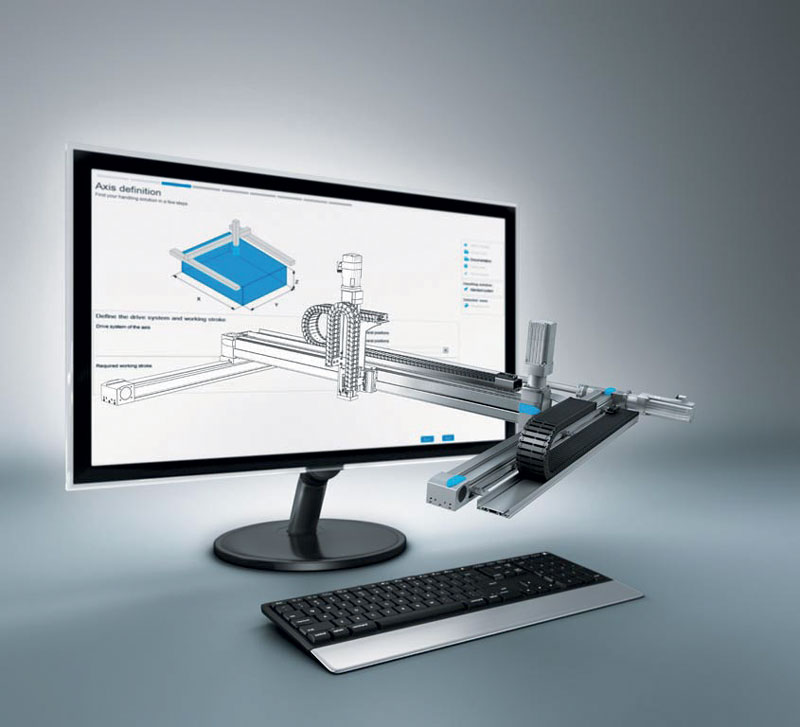 With the Handling Guide Online, machine and equipment manufacturers could reduce their time-to-market for integrated handling systems by up to 70%.