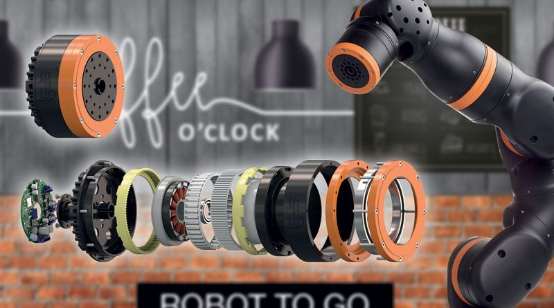 Con il kit di costruzione per riduttori armonici è possibile implementare, velocemente e con costi contenuti, molti nuovi progetti per i robot di servizio.