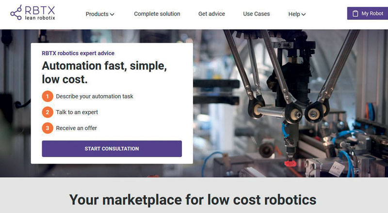 The new modular gearbox system will also be available on RBTX.com, the online marketplace.