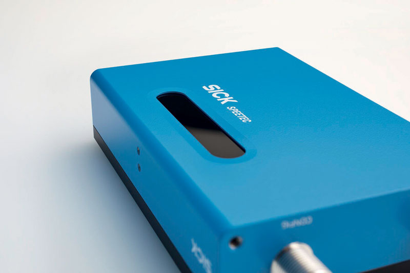 SPEETEC from SICK operates without contact for measuring the speed and length of moving objects in a linear direction.