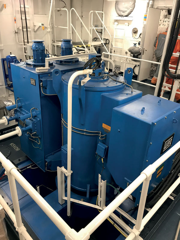 Electric motors for the marine field.