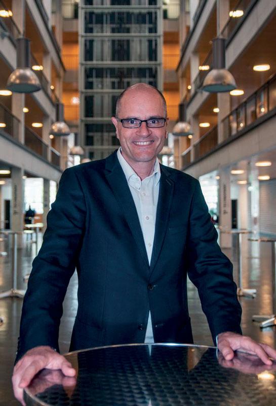 Andre Thuswaldner, vice-president of EUROTRANS.