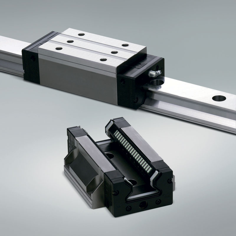 NSK's RA series roller guides provide super-high accuracy and smooth motion, even under high loads.
