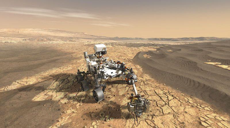 Anche i cuscinetti aiutano il rover Perseverance