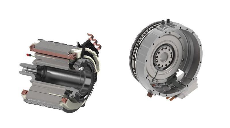 motori elettrici e moduli ibridi