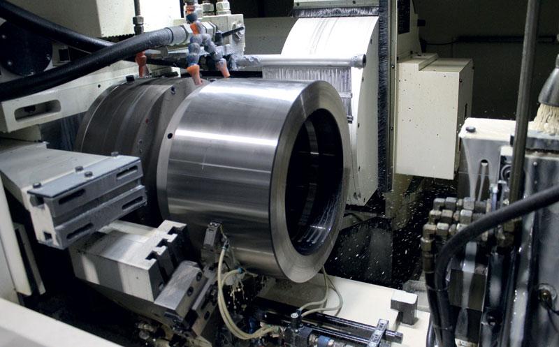 NOVA - NOVAMATIC PGE external grinding machine.
