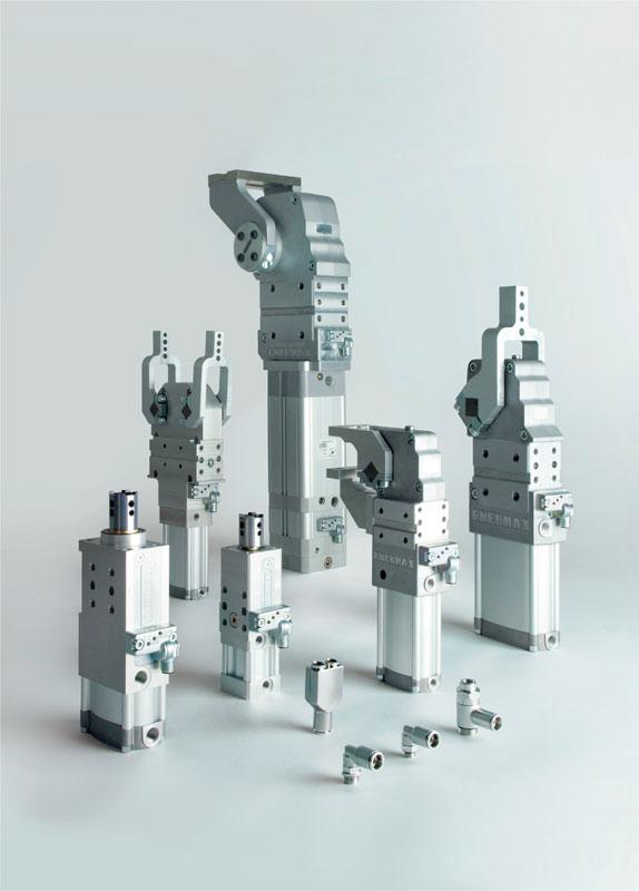 La gamma di componenti Pneumax rivolti al settore automotive.