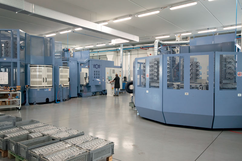 "With the new ""Unit 7"" Pneumax doubles its production capacity dedicated, mostly, to the automotive sector."