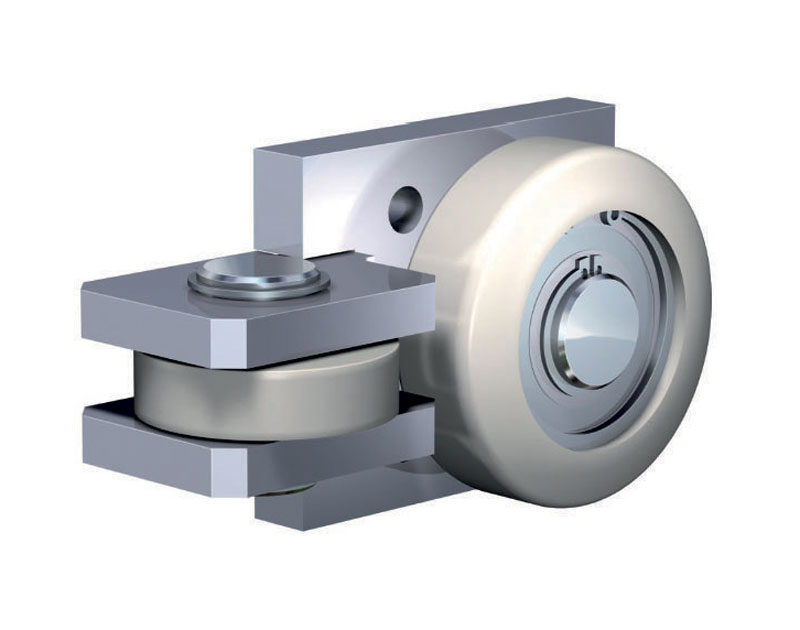 Combined WINKEL bearing in stainless steel for high speeds.