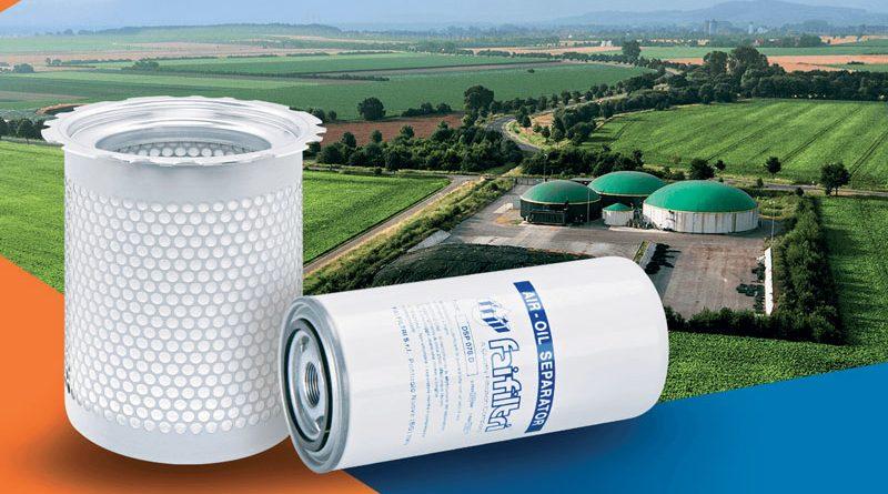 La gamma di separatori di Fai Filtri è stata adattata per impiego sugli impianti di biogas e biometano.