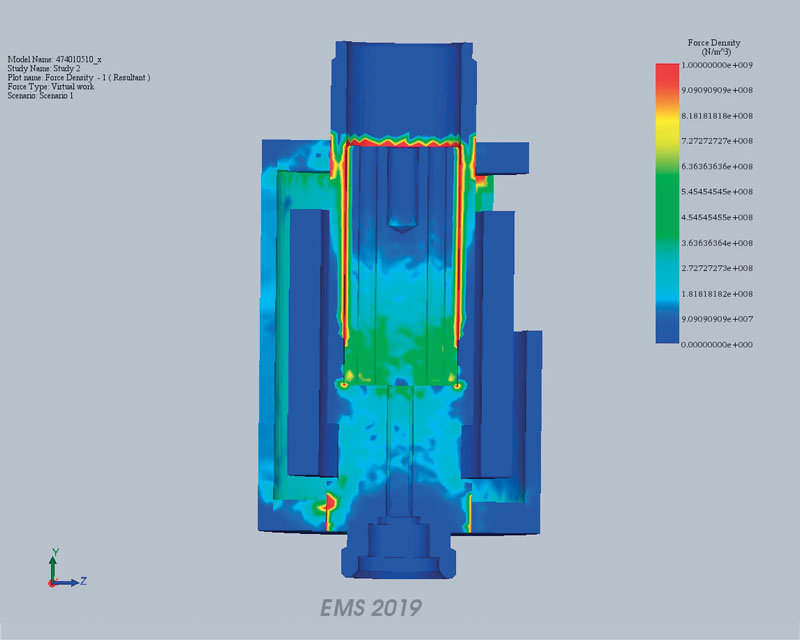 Il sistema di analisi multifisica CAE FEM consente un'analisi completa di tutto ciò che è inerente all'applicazione del prodotto.
