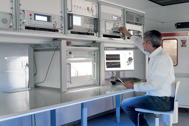 The Testing Laboratory plays a key role in guaranteeing the utmost quality in each stage of the production process.