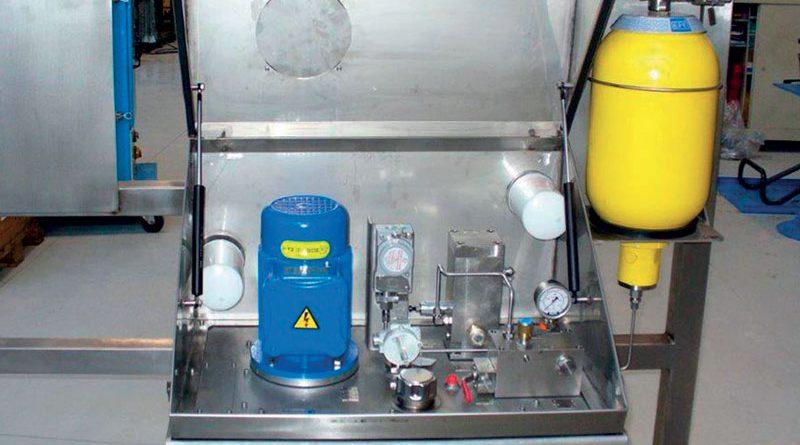 Centrale idraulica per ambienti artici.