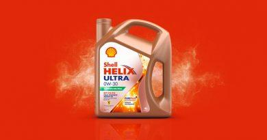Il lubrificante Shell Helix Ultra 0W è carbon neutral.