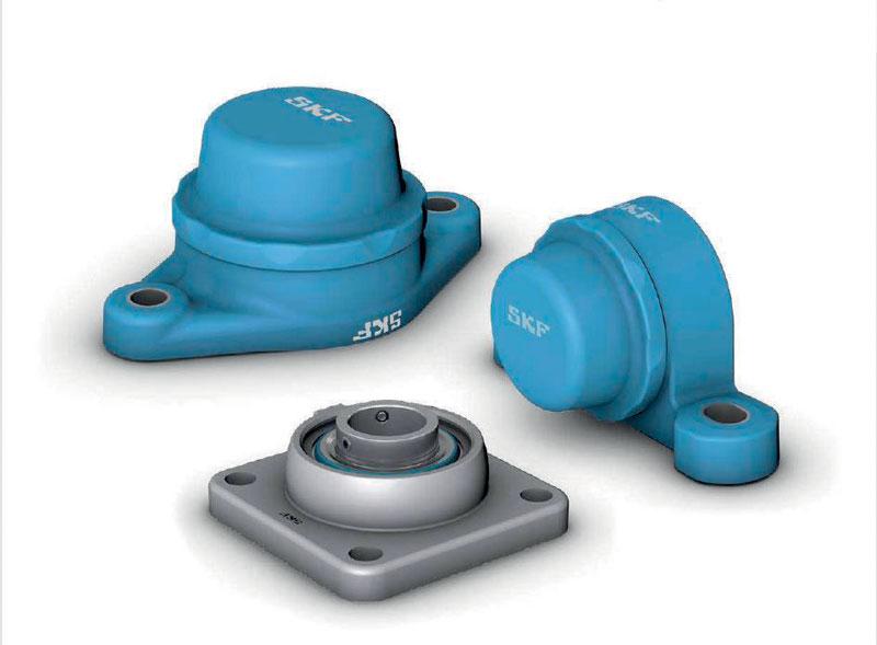 SKF Food Line ball bearing units - Blue range.