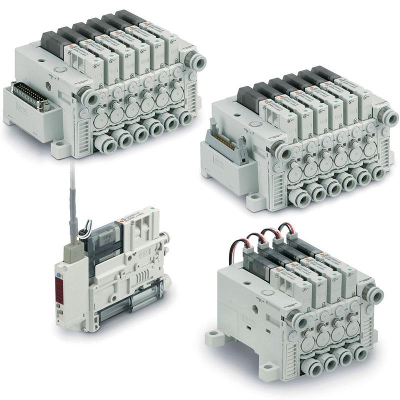 Figura 6: I sistemi venturi ZK2sono in grado di modulare automaticamente il vuoto riducendo i consumi.